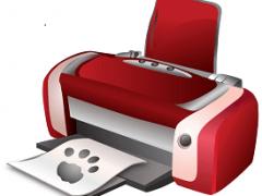 Принтер HP при включении печатает тестовую страницу