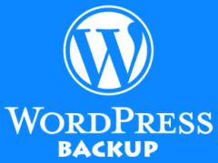 Как сделать бэкап сайта на WordPress.