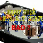 Ошибка: Hard Disk: SMART. Status bad. Backup and replace error. Как убрать?